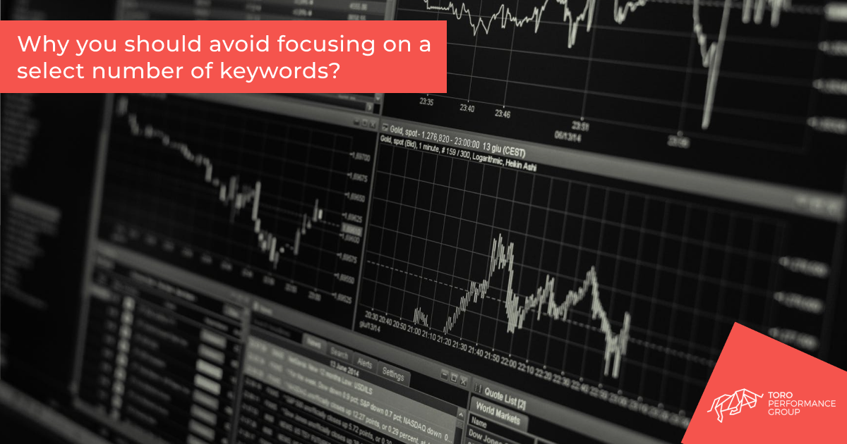 Why you should avoid focusing on a select number of keywords_